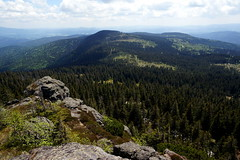 Looking South from Groer Arber (WeatherMaker) Tags: mountain mountains germany bayern bavaria bayerischerwald