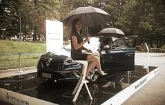 Rainy day on Turin motorshow (only_sepp) Tags: auto torino renault pioggia motorshow modelle allaperto parcodelvalentino