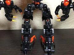 MOD: Lava Beast - 05 (stubs4limbs) Tags: bionicle ccbs stubs4limbs lego moc
