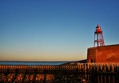 vuurtoren vlissingen met opkomende zon (Omroep Zeeland) Tags: holland landscape boulevard natuur zeeland zon vuurtoren vlissingen walcheren ondergaande