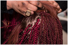Complicated hair braiding_DSC06549 (devos.ch312) Tags: african hairdresser hairsalon hairstyle afrobraids