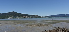 The tide is out early winter afternoon looking across at Airlie Beach in the Whitsundays P1050176 (Steve & Alison1) Tags: winter beach out early is afternoon looking tide whitsundays across the airlie