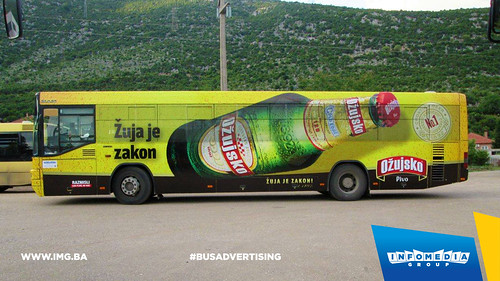 Info Media Group - Ožujsko pivo, BUS Outdoor Advertising, Mostar 05-2016 (1)