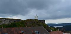 Halden Fort (Bo Ragnarsson) Tags: norway norge cloudy fort fortress festning halden hamn fstning fredriksten