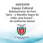 Relan�amento do livro de Guilherme Mattar 30/05/2016
