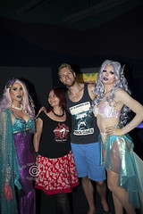 AQUEERium20160626_092sm (DawnOne) Tags: gay party fish toronto men water glitter aquarium rainbow women dj ray tube australian young ripleys kitty pride lgbt mermaids virago sharks local rays judy trans mermaid facepaint superstar tanks transsexual sapphire reign 2016 transsexuals cownose lgbtq titha aqueerium