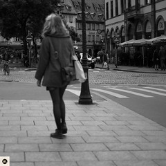 26S16 (photo & life) Tags: street city blackandwhite paris france 35mm square photography europe noiretblanc streetphotography strasbourg squareformat fujifilm fujinon ville jfl xt1 squarephotography humanistphotography fujinonxf35mmf14r fujifilmxt1 photolife