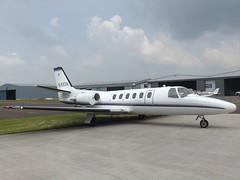 G-ESTA Cessna Citation II Executive Aviation Services Ltd (Aircaft @ Gloucestershire Airport By James) Tags: james airport aviation gloucestershire ii executive ltd cessna lloyds services citation bizjet gesta egbj