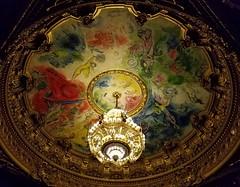 Opéra Garnier (Helenɑ) Tags: paris france bronze painting crystal ceiling chandelier dome operahouse operagarnier marcchagall palaisgarnier parisopera opéradeparis samsunggalaxys7edge samsungsmg935a