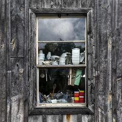 (donna leitch) Tags: wood utensils window kitchen rustic bowls flesherton donnaleitch