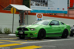 Mustang GT (aguswiss1) Tags: green ford racecar shelby mustang gt supercar v8 musclecar sportscar mustanggt ponycar uscar mustan fordpower usmuscle camarokiller