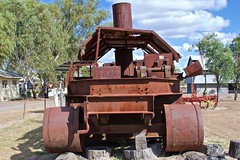 "Irvine Heat Treatment Machine - ""The Roadburner"" (outback traveller) Tags: historic seq"