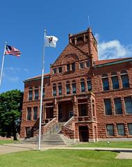 Warren County Courthouse, Monmouth, Illinois (Blake Gumprecht) Tags: illinois downtown monmouth collegetowns warrencountycourthouse