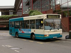 Arriva Derby 2224 Morledge (Guy Arab UF) Tags: bus buses pointer derbyshire 1999 dennis dart derby 2224 arriva slf plaxton morledge t54jjf