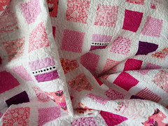 Pink-twin-quilt_000031 (irina_vykhrestiuk) Tags: modern quilt handmade homemade twin kid child patchwork bedding bed quilting memory throw