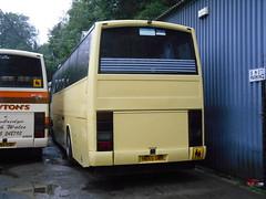 Newton's H655 UWR (welsh bus 16) Tags: volvo newbridge paramount newtons 3500 greenwoods plaxton b10m castellcoaches h655uwr