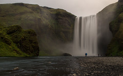 Skogafoss (Brian Powers Photography) Tags: travel mountain waterfall iceland europe skogafoss