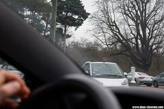 Spotting 2011 - Maserati Granturismo (Deux-Chevrons.com) Tags: auto street paris france car automobile automotive spot voiture coche spotted rue maserati spotting granturismo croise maseratigranturismo