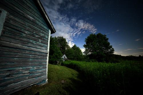 Moon and Barn No. 3
