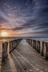 Domburg, Zeeland the Netherlands (Lex Vermeend Photo's) Tags: sunset beach nature netherlands strand sunrise zonsondergang nederland noordzee zeeland northsea nederlands zand domburg zonsopkomst nederlandnetherlands