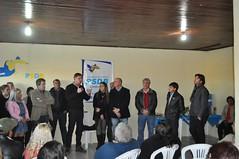 Secretrio no lanamento da campanha do candidato Betiolo em Candiota (Lucas Redecker) Tags: sme secretrio candiota lucasredecker