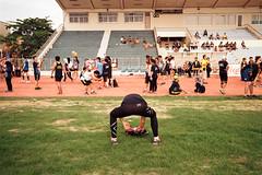 * (Sakulchai Sikitikul) Tags: street leica film thailand athletics kodak stadium marathon streetphotography running stranger snap summicron songkhla ttl runner m6 selfie 085
