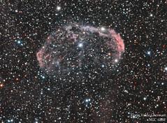 NGC 6888 HaRGB (Florin_92) Tags: star image crescent telescope astrofotografia ccd universe estrella espacio stargazing nebulosa milkyway universo telescopio hidrogeno vialactea strophotography atik420