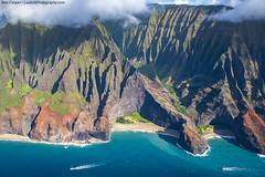 N Pali Coast (Ben_Cooper) Tags: mountains hawaii coast cliffs kauai coastline geology napali rugged napalicoast npali npalicoast kakalau kakalautrail