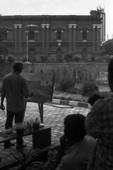 The Artist (S a b i r) Tags: street leica 50mm fuji kodak candid bangalore streetphotography streetlife hc110 rangefinder 100 m3 acros industar sabir 5028 epsonv700 dilh venkatappaartgallery