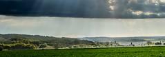 Champniers (Jean-Luc Peluchon) Tags: light sky cloud mist france field fog rural landscape lumix ray lumire panasonic ciel rayon nuage paysage campaign campagne brouillard champ fz1000