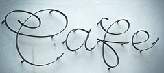 Letters in Freiberg (typographics2010) Tags: sign metal germany word message graphic letter typo inscription freiberg