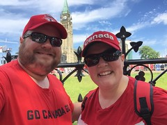 Celebrating Canada Day on Parliament Hill (HjMeegs) Tags: ottawa parliamenthill