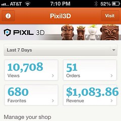 "@etsy app still has padding issues - can totally live with it  #3dprinting #makerbot @pixil3d • <a style=""font-size:0.8em;"" href=""http://www.flickr.com/photos/11256091@N06/8716116302/"" target=""_blank"">View on Flickr</a>"