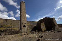 Old Gang Pb Smelting Mill (lakeland72) Tags: chimney ruins industrial northyorkshire landsape arkengarthdale oldgang leadsmelting