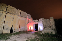 7-5-13 Nocturna (Marcos Daro Petraroia) Tags: lightpainting selva nocturna mallorca islas baleares 2013