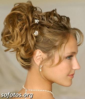 Penteado para noivas 2013