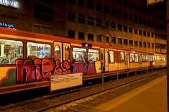 Trains - 70 (Jupiter-JPTR) Tags: sf germany graffiti cologne dome colonia nightshots publictransport niels ccaa cityline nightvisions jptr personsunknown chosenones nightpieces trainsdaynight