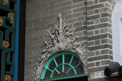 Rococo Plaster Mouldings (Canadian Pacific) Tags: building architecture hongkong estate chinese historic mansion  newterritories  yuenlong   santin taifutai   wingpingtsuen wingpingvillage taifudai aimg9514