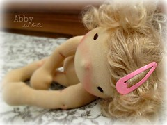 Abby (Les PouPZ) Tags: vintage toy waldorf collection chic artdoll decor doudou ragdoll dukker shabby clothdoll poupeedechiffon cuddledoll lespoupz stoffepuppen