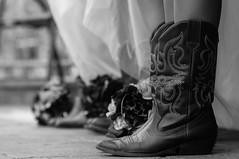 Those Boots (Rob_Simpson) Tags: california county wedding white black boot bride nikon boots bridesmaid shasta cowgirl redding