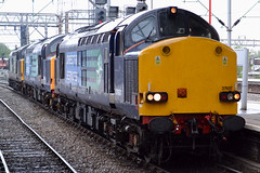 37607,601&667-CreweStn-11.5.13 (shaunnie0) Tags: growler drs class37 crewestation 37607 37667 directrailservices 37601 0z37