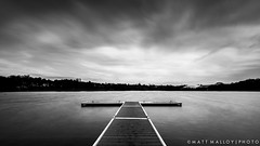 Wimbledon Park (MM Photo's) Tags: park longexposure bw white lake black mono pond nikon jetty 9 stop filter nd wimbledon d600 1635mm wimbledonpark