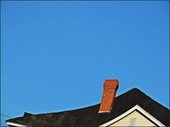 touch the sky (stansvisions) Tags: blue roof sky black colors catchycolors shiny bluesky stansvisions