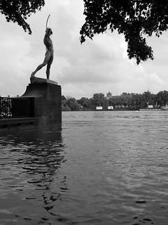 Dresden, Elbe Hochwasser - river Elbe flood 14