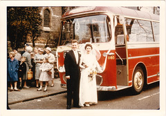 Barton's Bus 865 - Wedding Party (Phil Wormald) Tags: nottingham wedding standrews 1961 bartons bartontransport trentbarton bartonbus