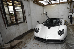 Number 14 (tWm.) Tags: white london car nikon thomas super mein f supercar zonda d800 v12 pagani clubsport 2013 vettura supervettura