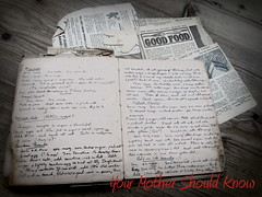 Your Mother Should Know (cazjane97) Tags: beatles recipes inherited yourmothershouldknow canonpowershotsx210is