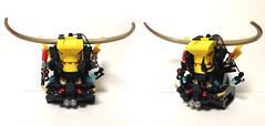 08_Devil1 (Dambaek) Tags: lego bust creation devil custom dambaek