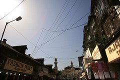 MUMBAI (TheClimateGroup) Tags: city india green electric asian grid asia downtown wiring market centre crowd bombay electricity metropolis maharashtra mumbai economy crowds metropolitan climate crowded chaotic colaba ind malabarhill megacity overcrowded lowcarbon climatefriendly