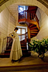 _MG_4211 (dendrimermeister) Tags: france castle architecture stairs spiral chateau sleepingbeauty usse